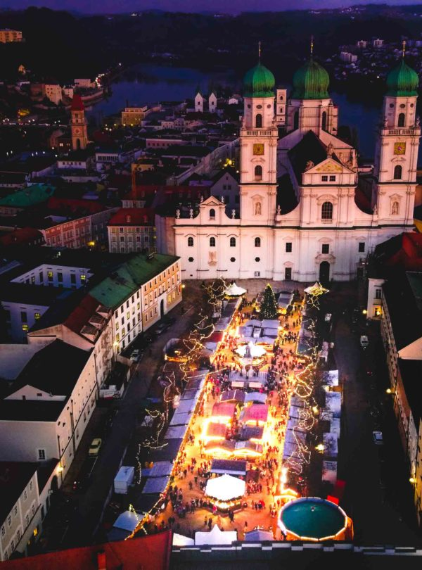Nachtaufnahme Passau