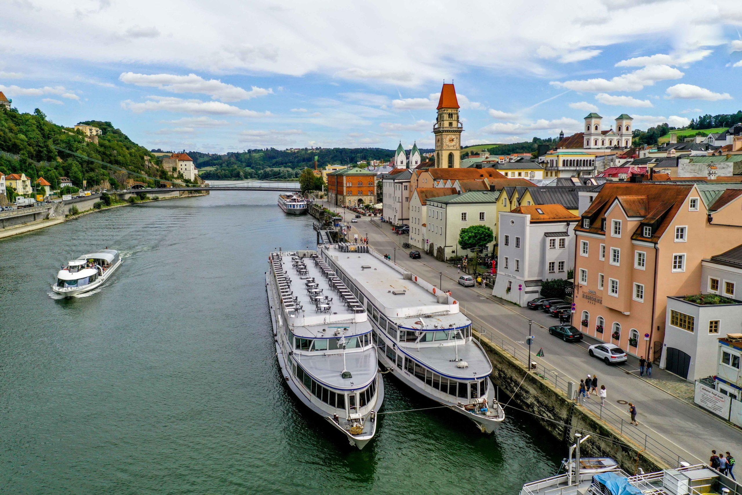 Flusskreuzfahrtschiff Passau